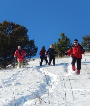 Séjour Raquettes dans les Alpes du Sud