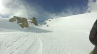 Stage ski de pente raide